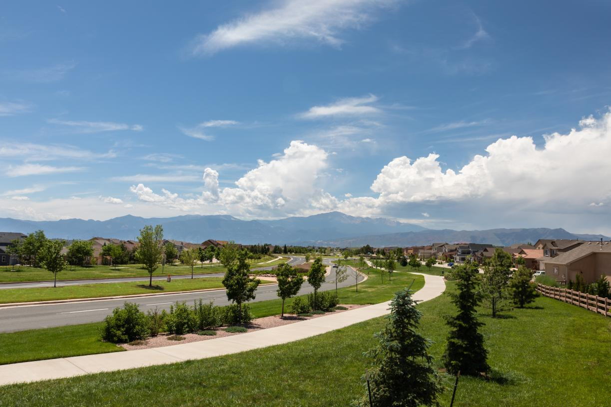 Relish the days spent outside with spectacular mountain views as a backdrop