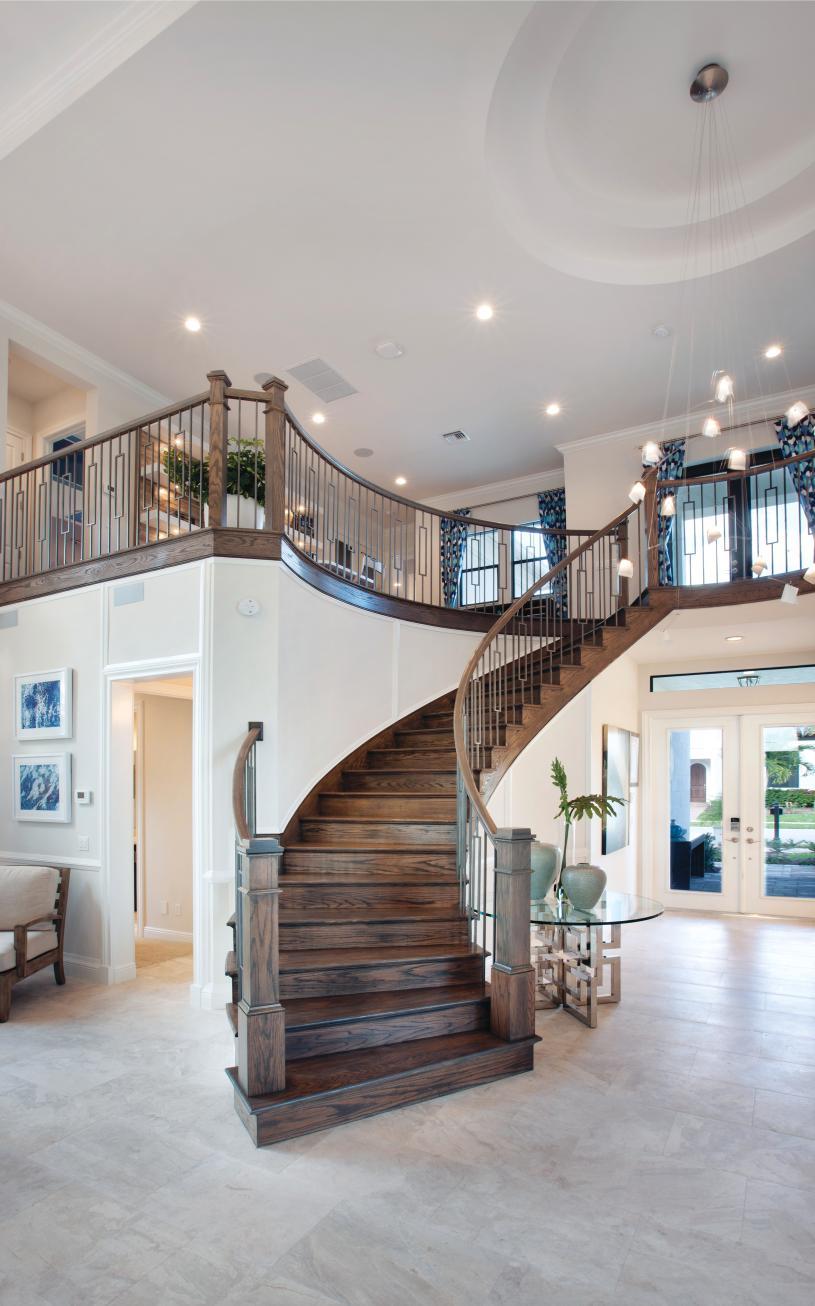 Elegant interior finishes