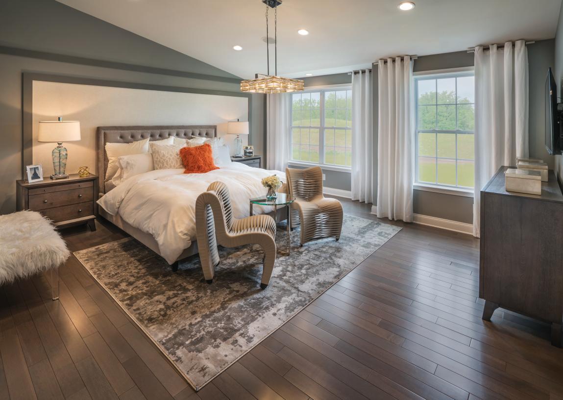 Stunning primary bedroom suites