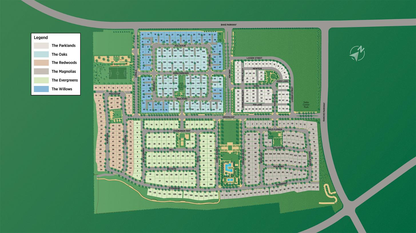 The Meadows Overall Site Plan