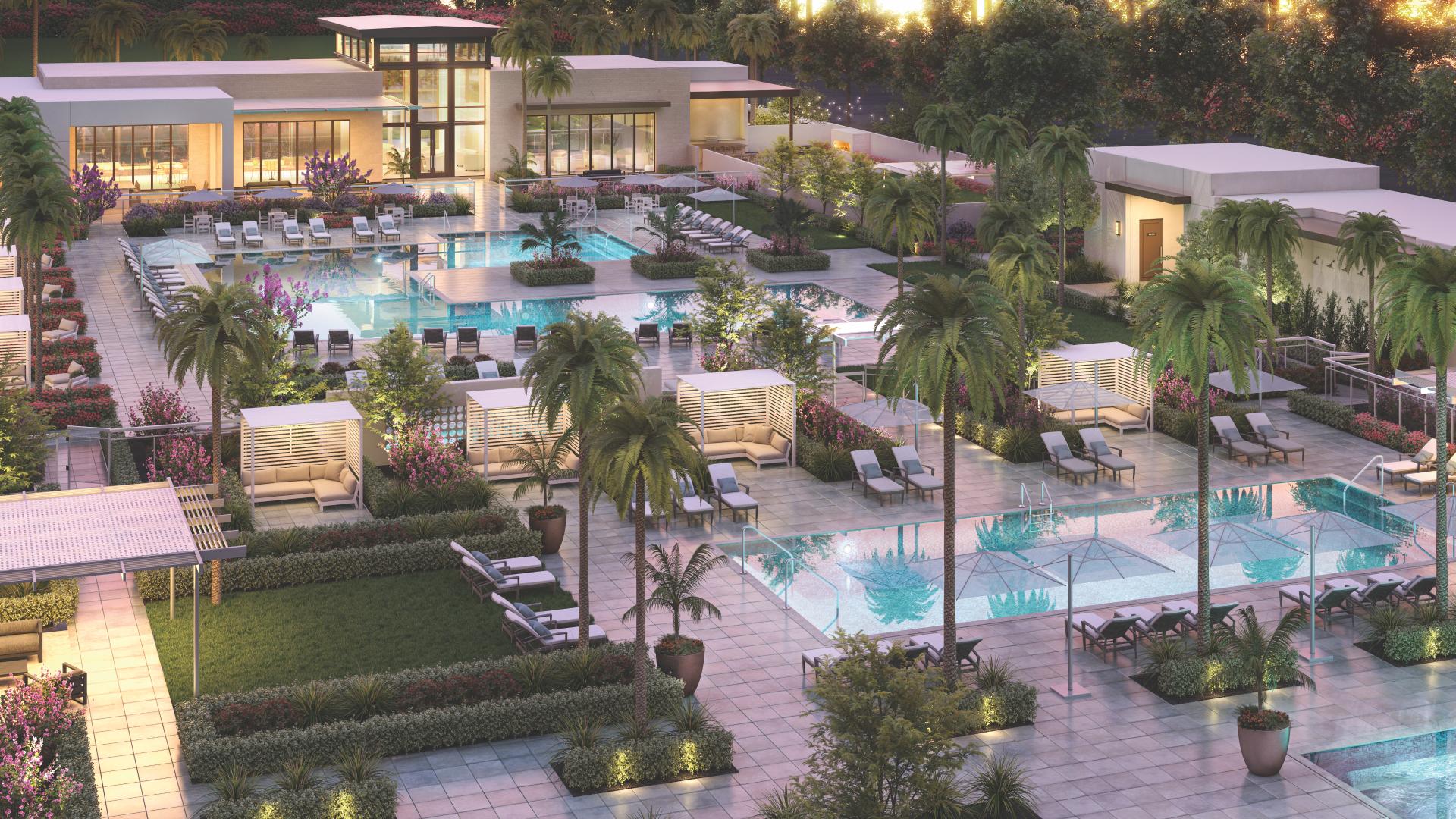 Resort-style recreation center