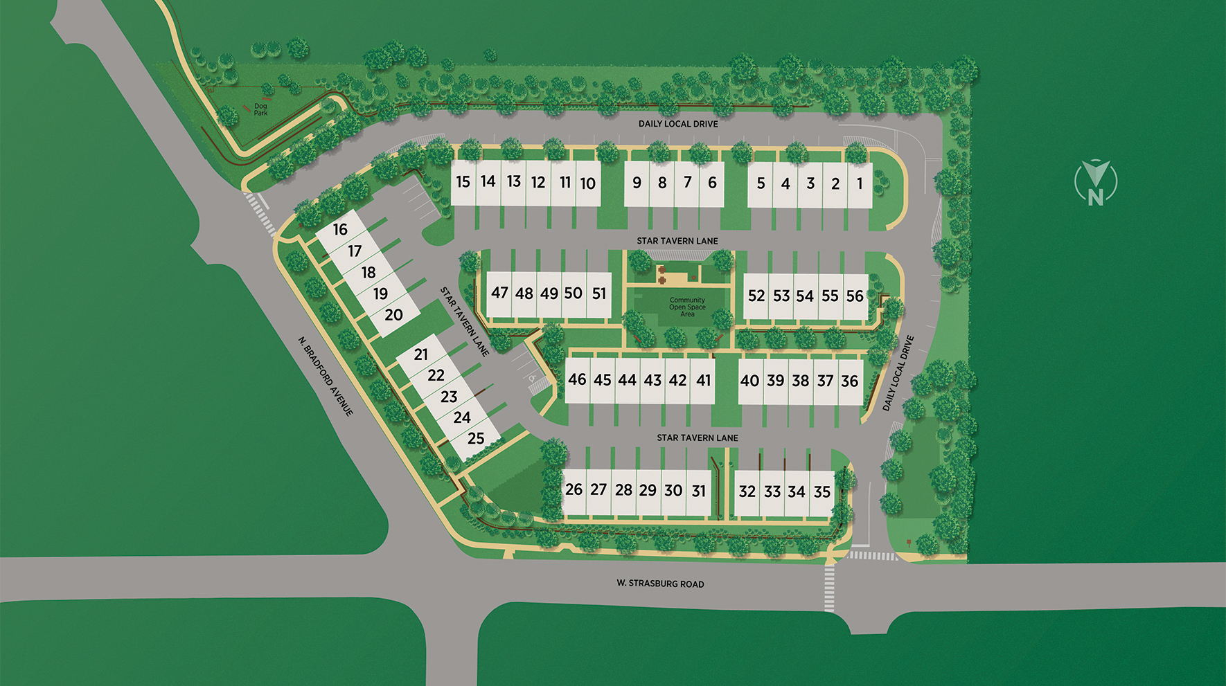 West Chester Crossing Overall Site Plan