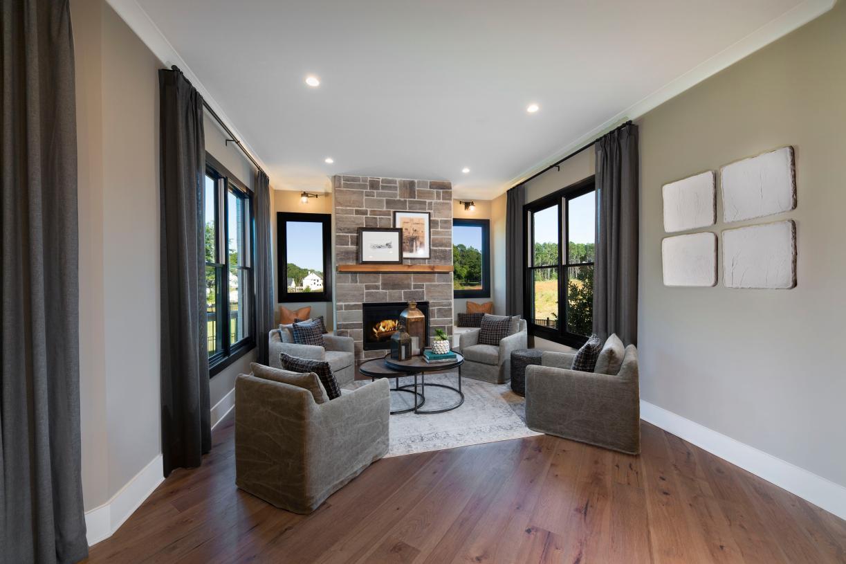 Beautiful Rosebriar living room