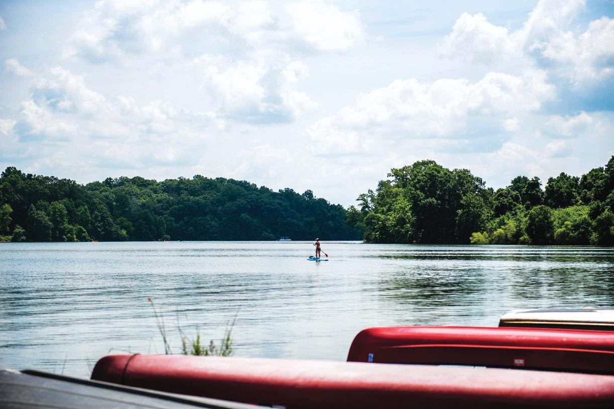 Spend the day at Marsh Creek State Park