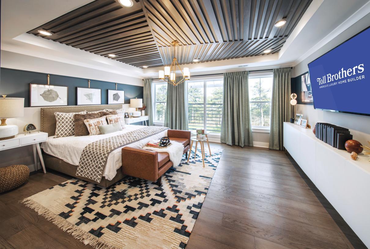 Representative Photo: Impressive primary bedroom suite