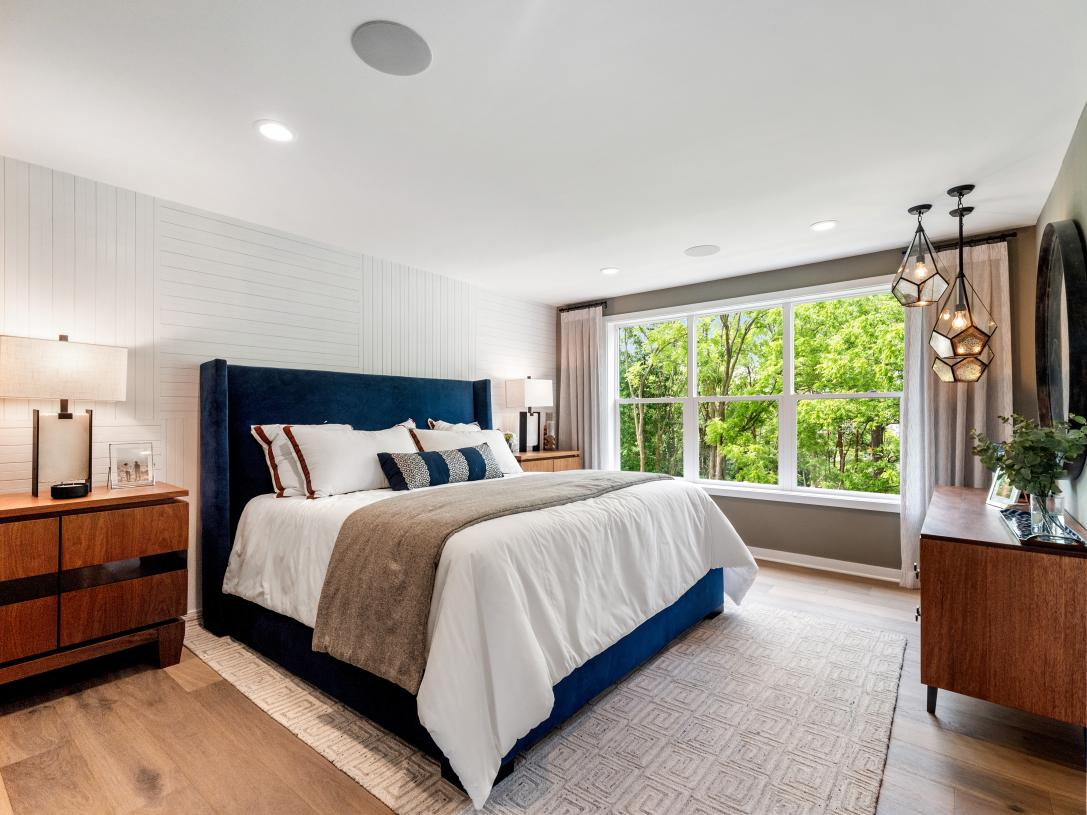Splendid primary bedroom suite