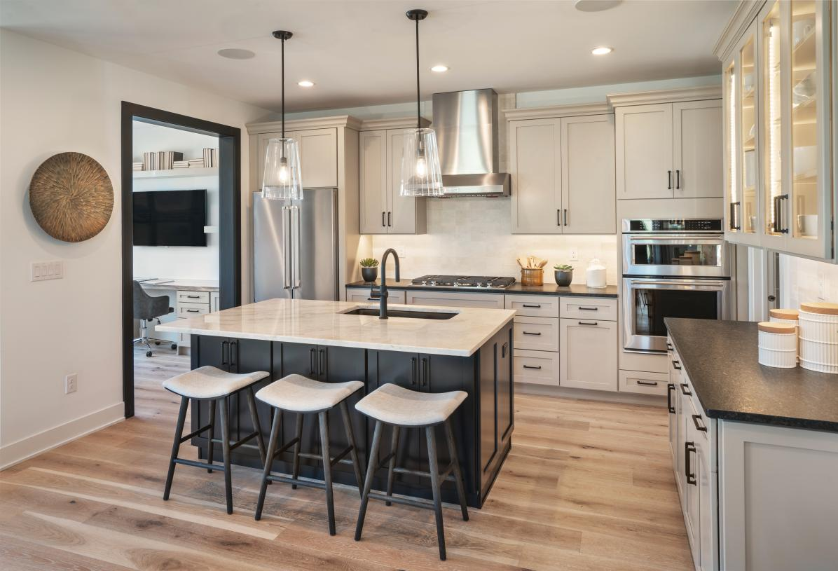 Spacious kitchen with plenty of cabinet space