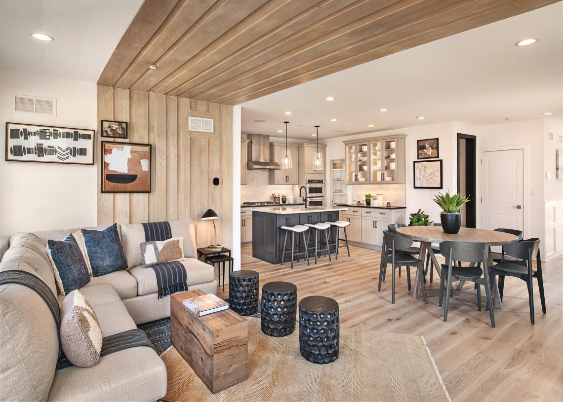 Nolan Elite's open-concept living
