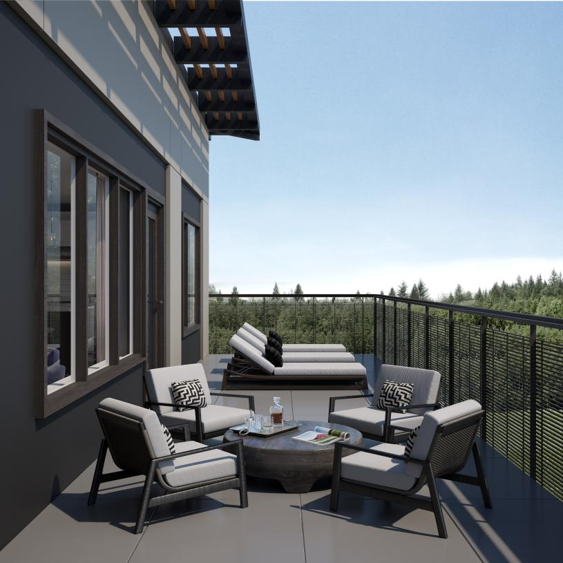 Covered decks and patios for outdoor entertaining
