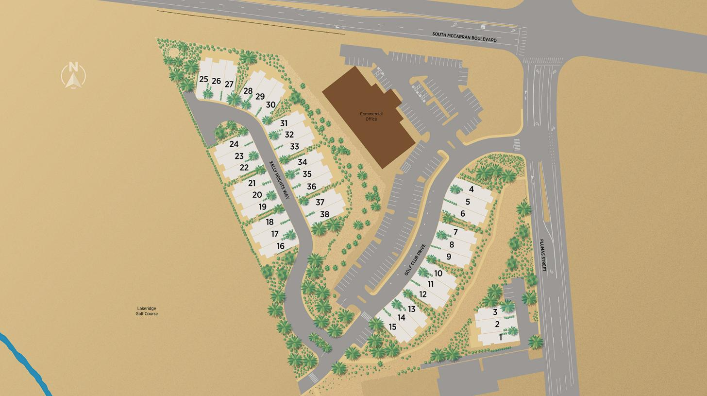 Hilltop by Toll Brothers Site Plan