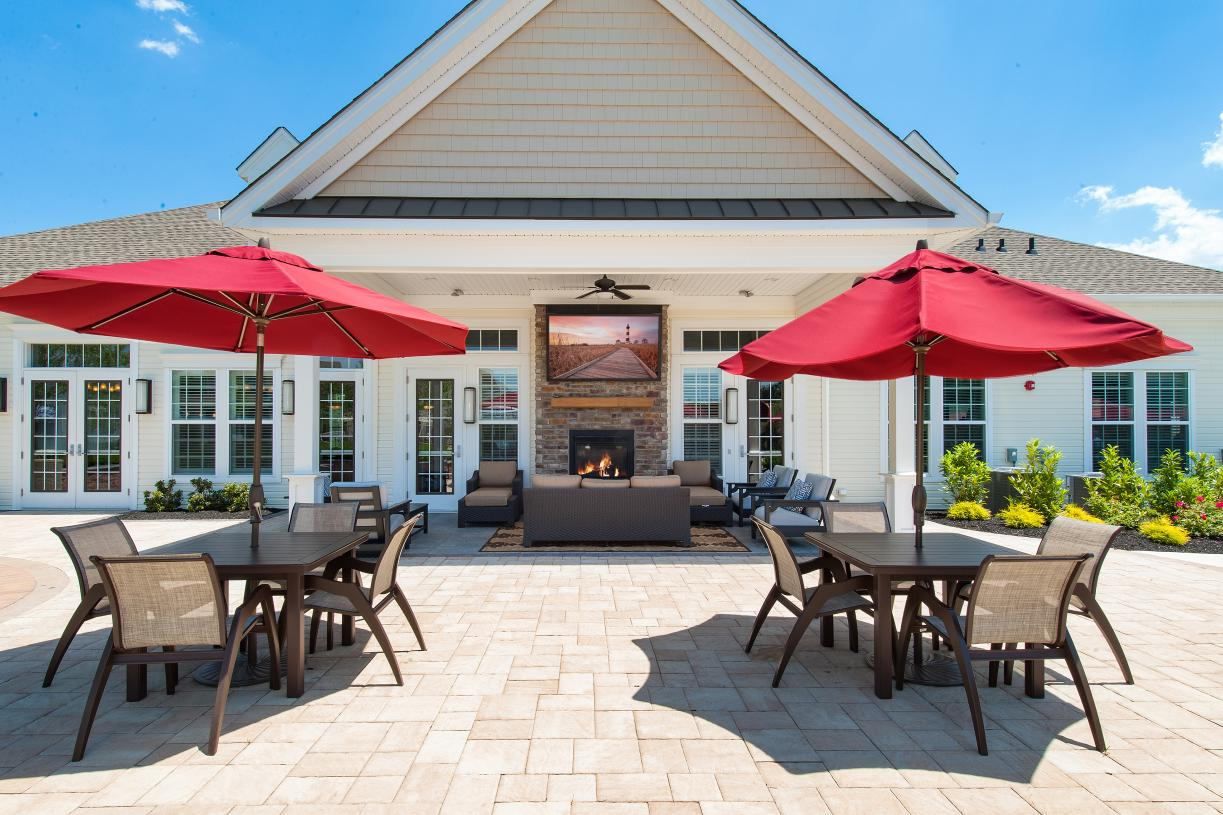 Meet friends and neighbors at your onsite community clubhouse