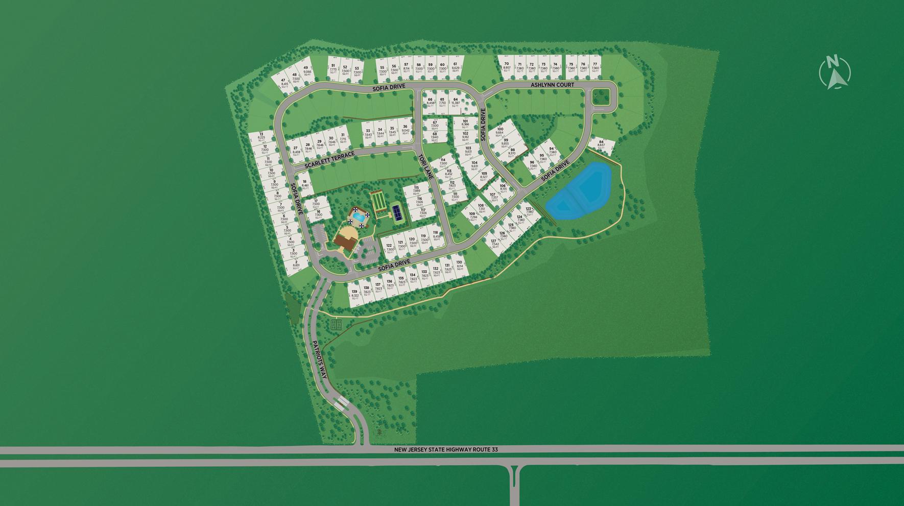 Regency at Manalapan - Retreat Site Plan