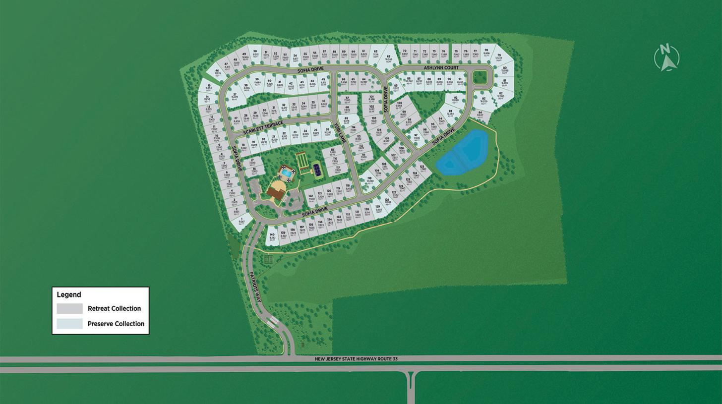 Regency at Manalapan Overall Site Plan