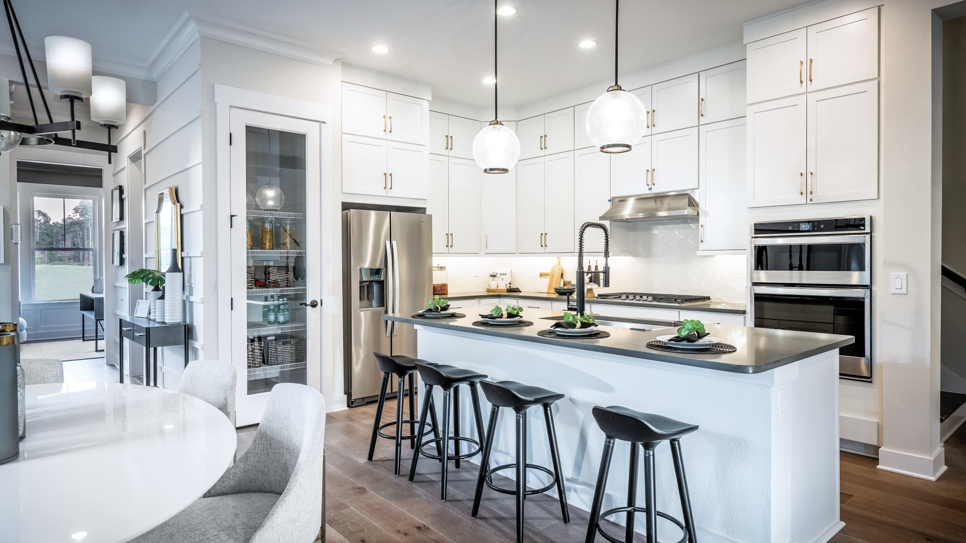 Well-appointed kitchens