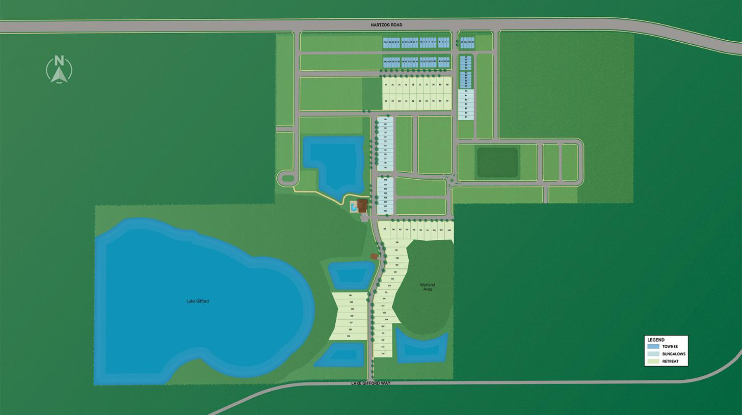 Westhaven at Ovation - Overall Site Plan
