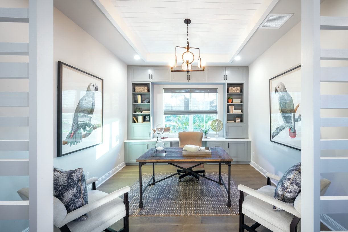 Private flex space for home office