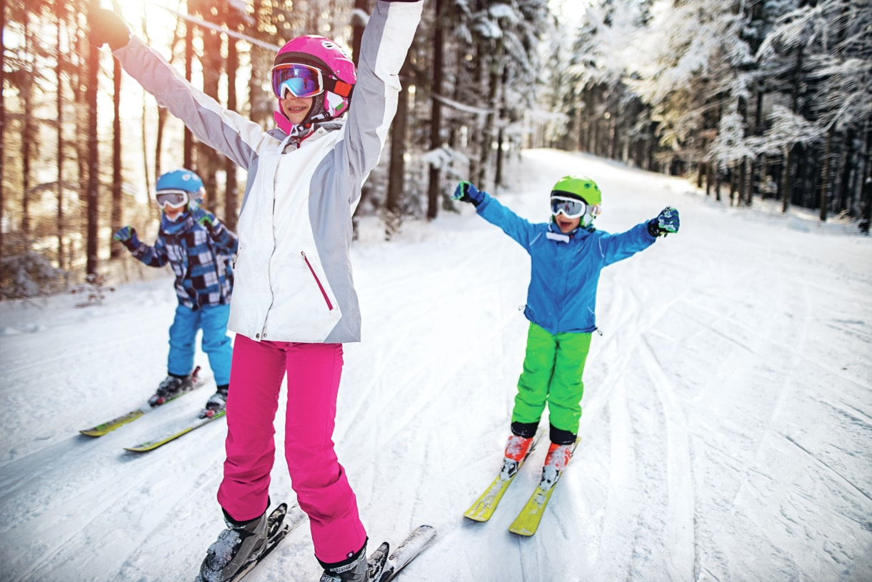 Winter sports or hiking at Mount Hood are only 1.5 hours away