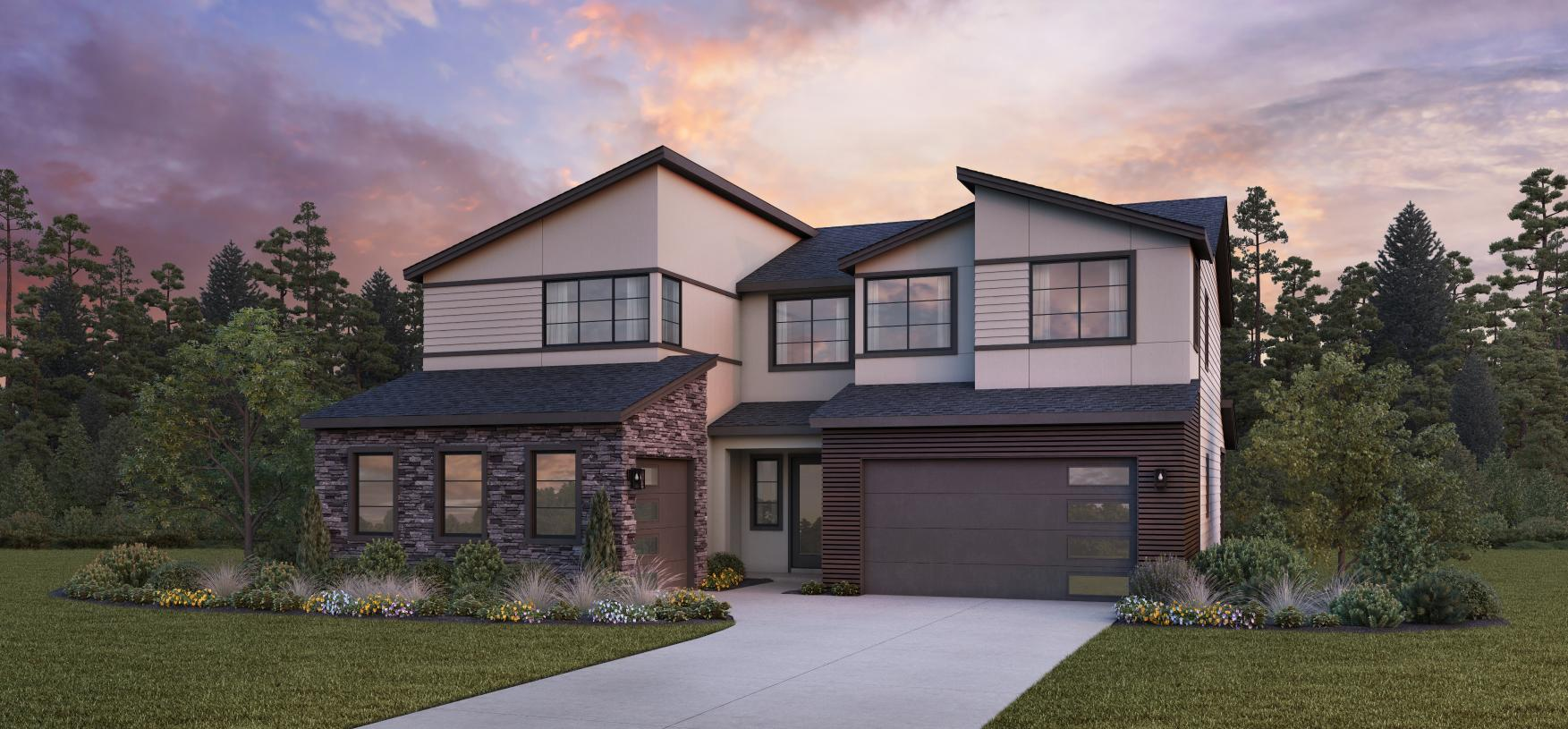 Rockcress with Basement -  Contemporary