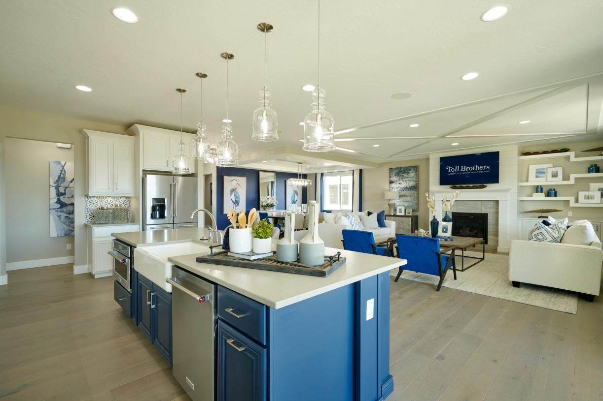 Expansive kitchen and great room space