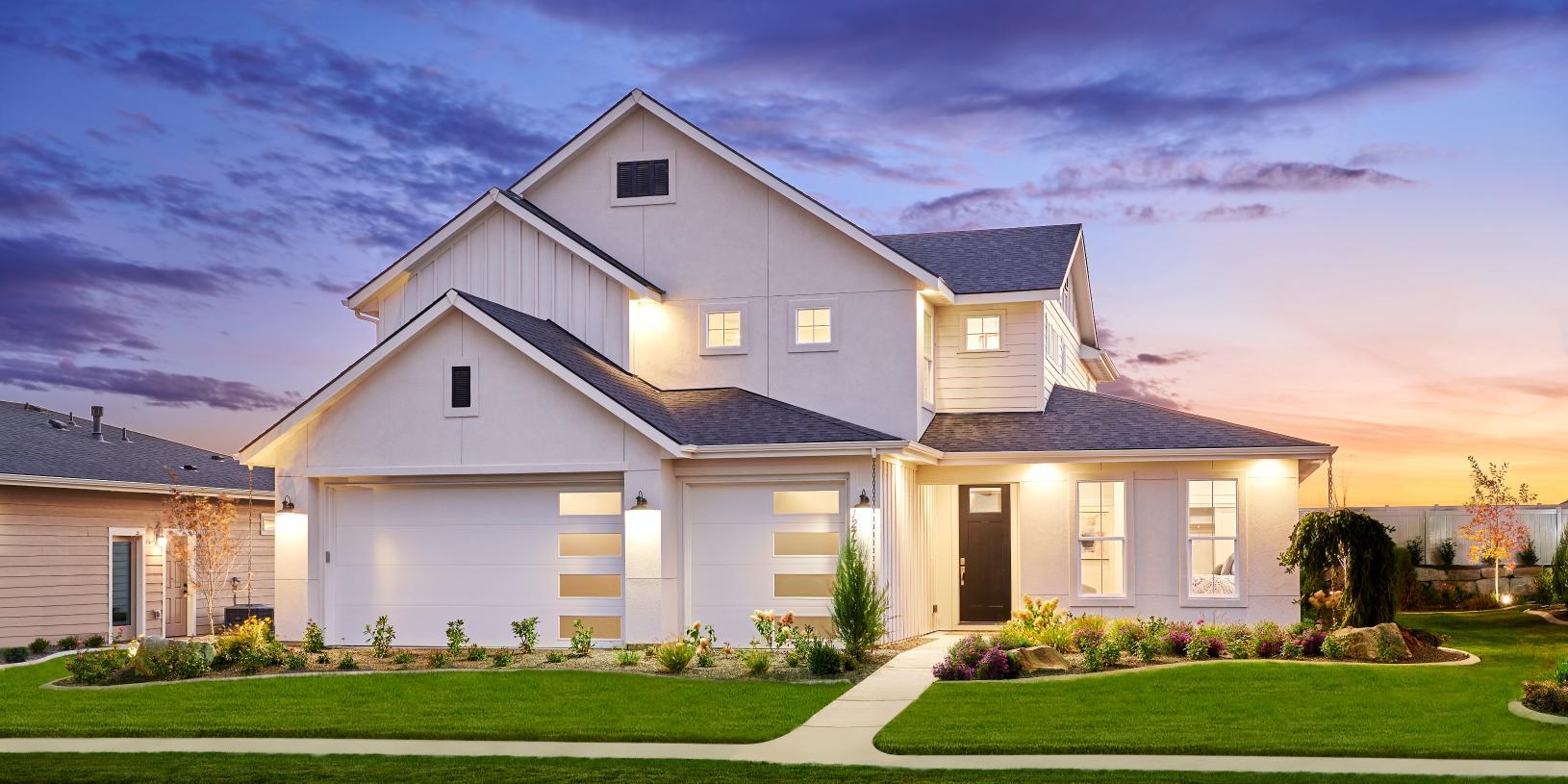 Sleek modern exteriors