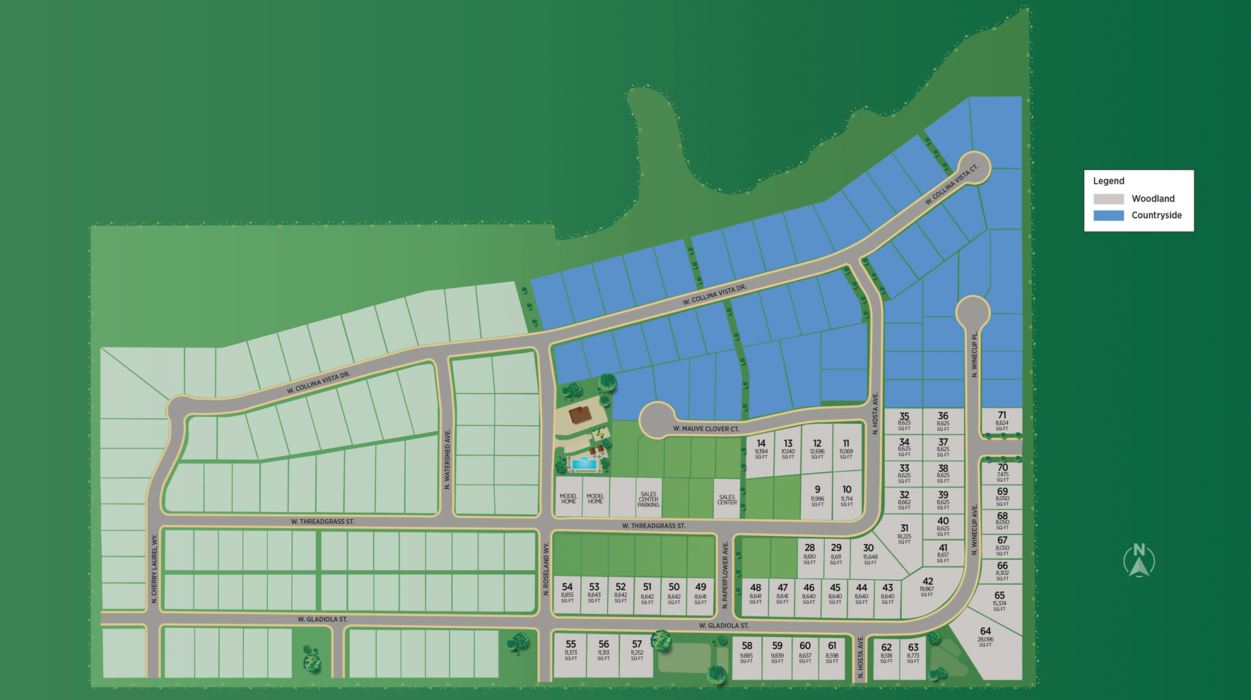 Toll Brothers at Collina Vista - Woodland Site Plan