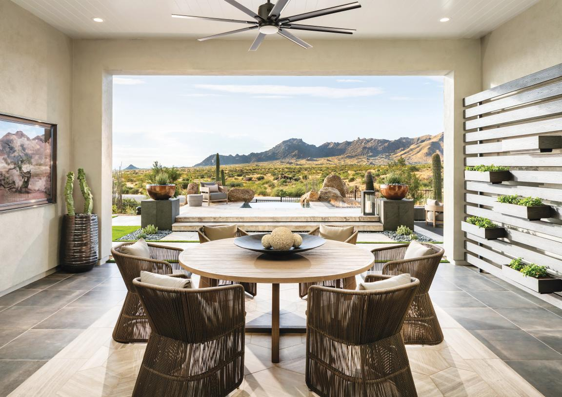 One-acre home sites with panoramic mountain views