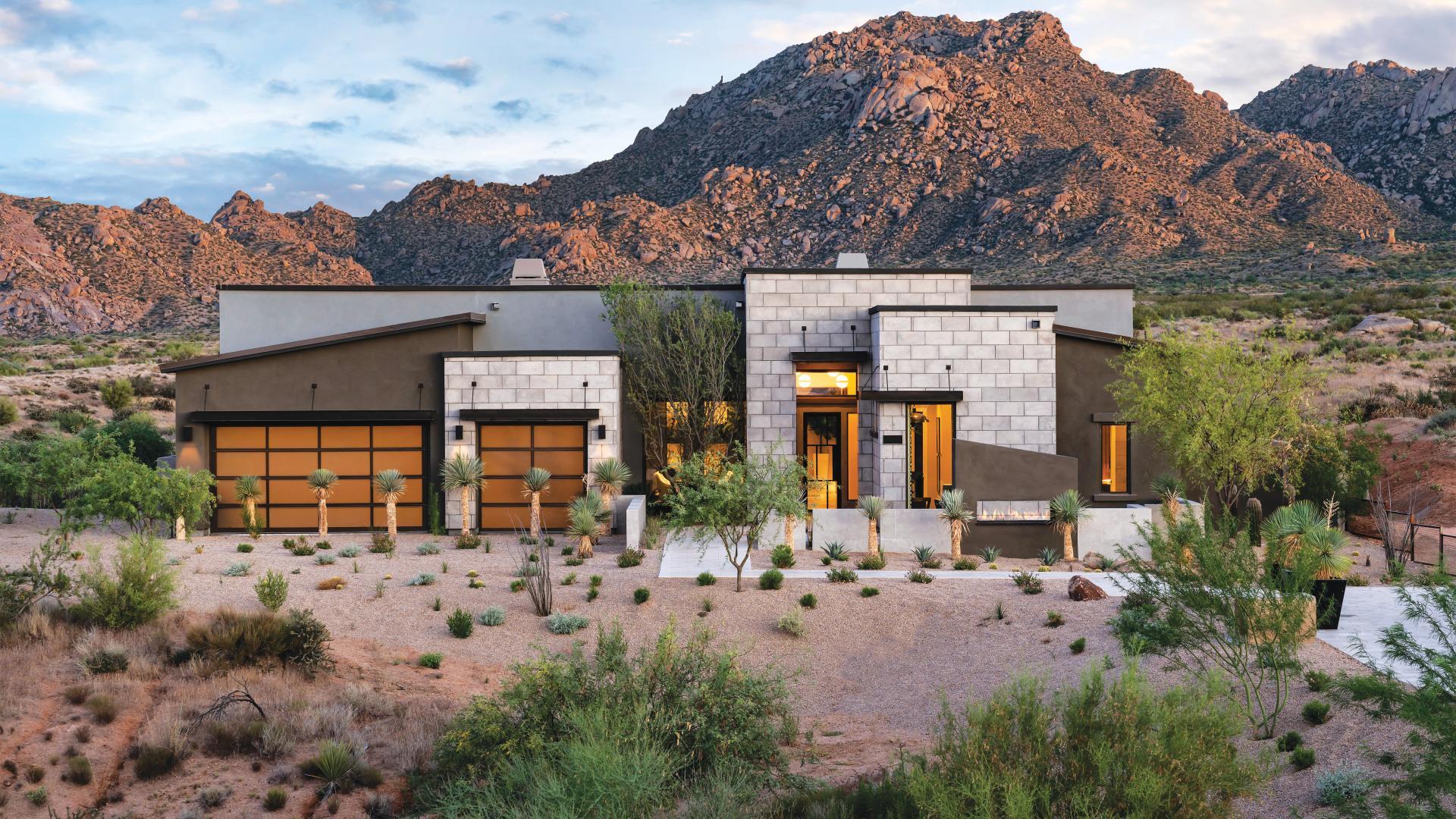 Award-winning home designs with beautiful mountain views