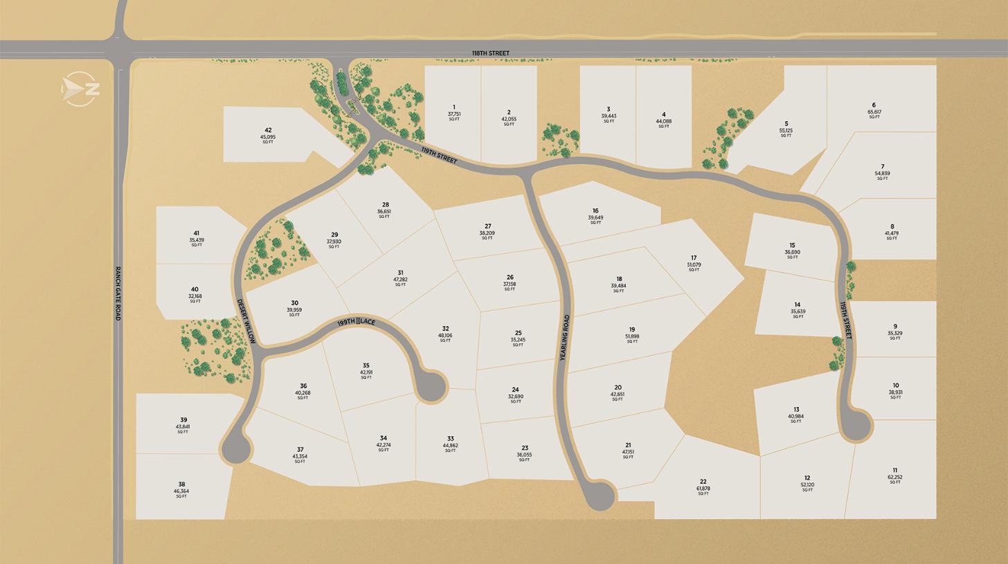 Ranch Gate Estates Site Plan