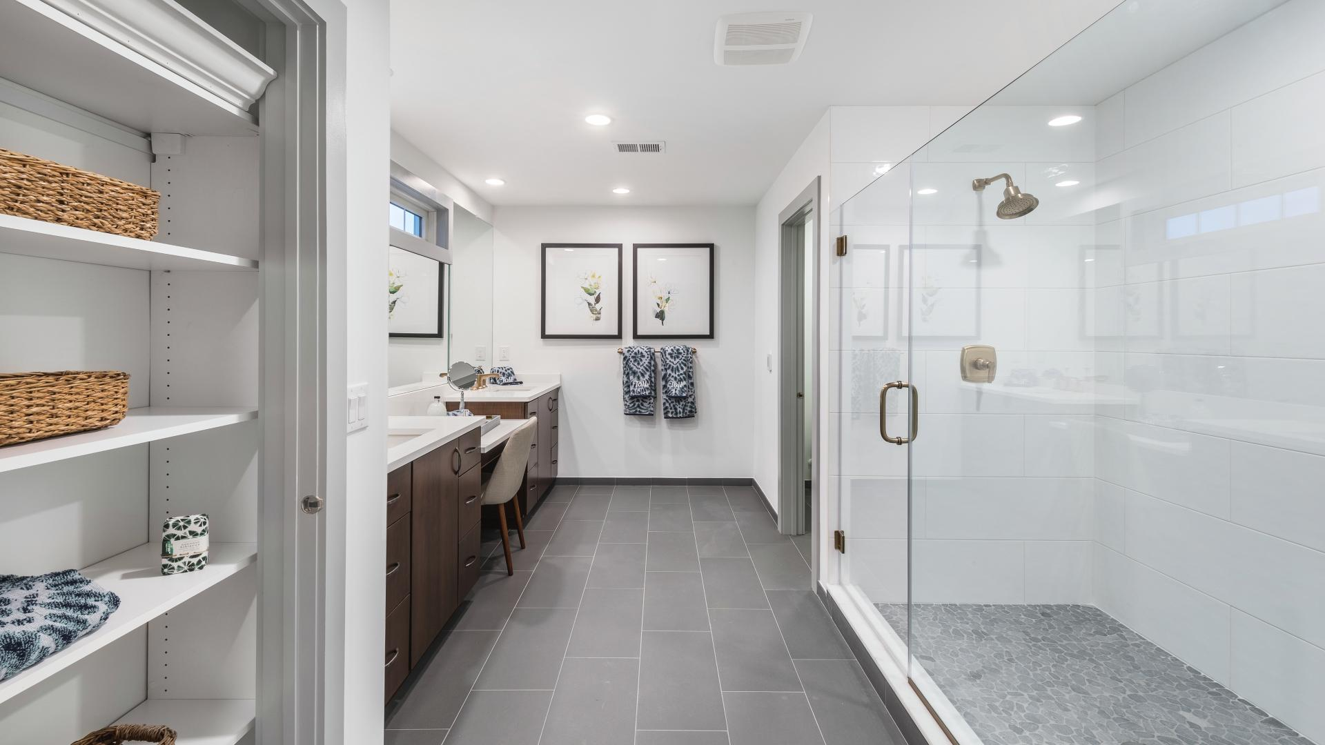 Photos are images only and should not be relied upon to confirm applicable features - Spacious primary bath