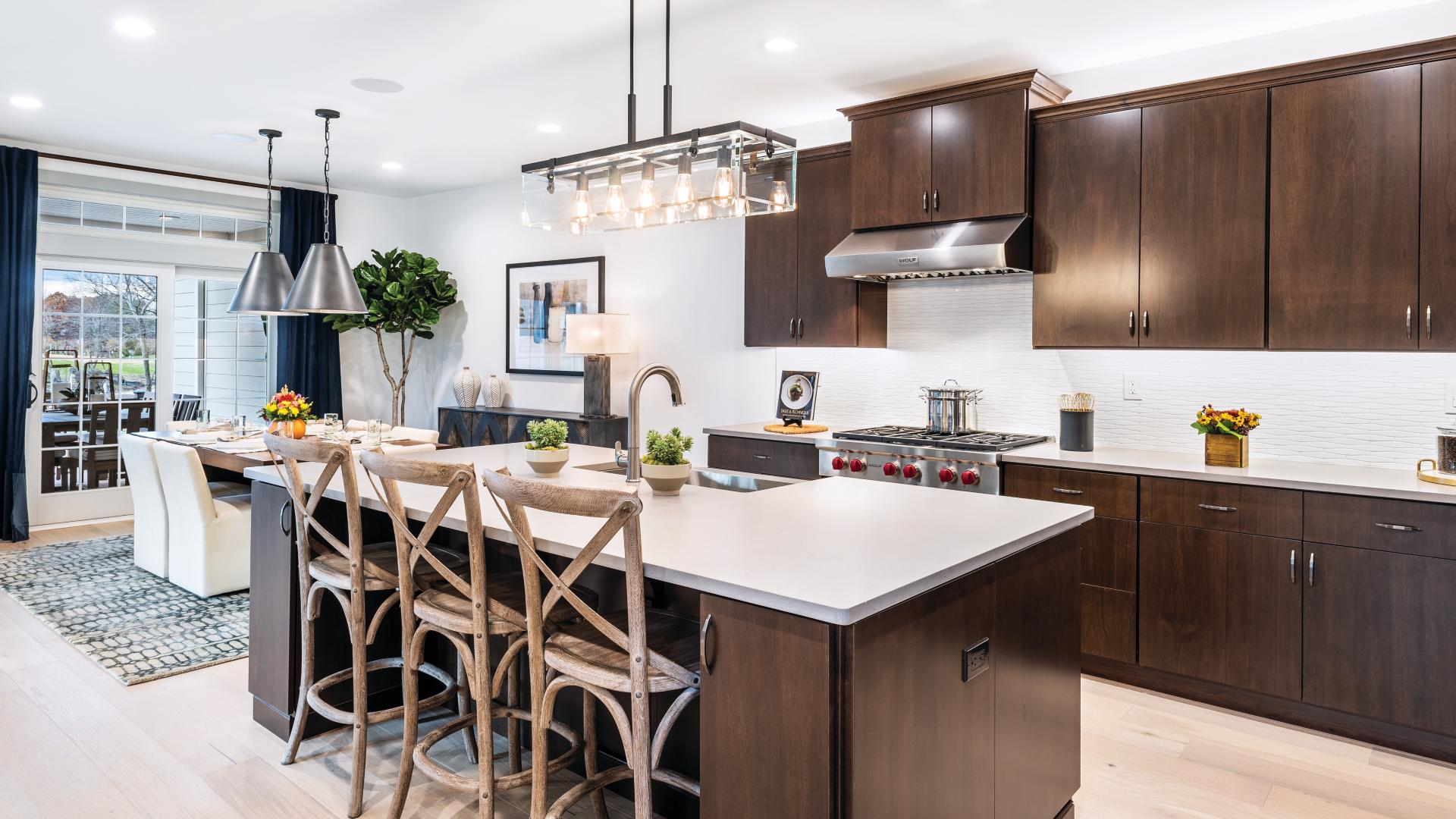 Photos are images only and should not be relied upon to confirm applicable features - Gourmet kitchen with extra counter space for entertaining
