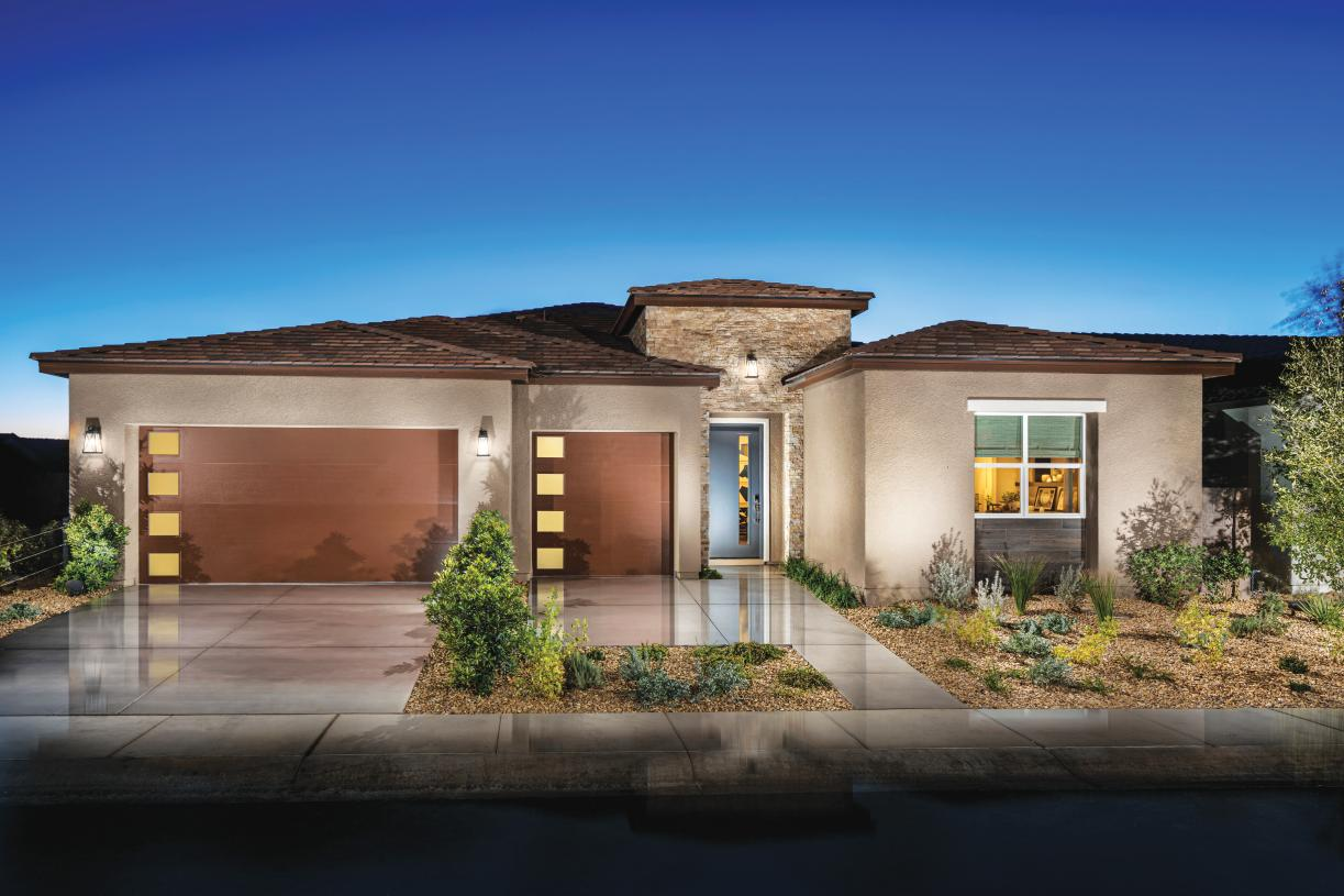 Exterior elevations that create variety in the neighborhood