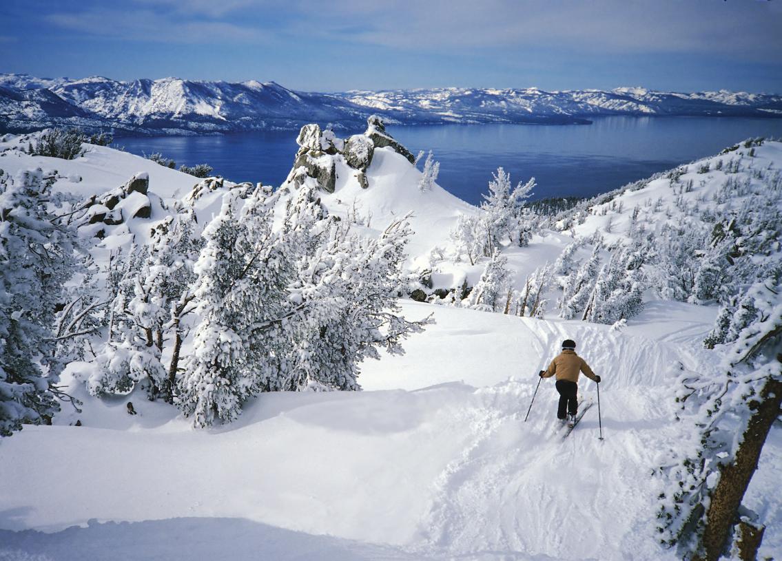 Enjoy multiple ski resorts within a short drive