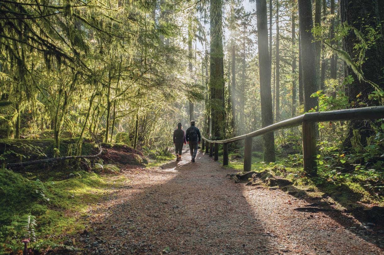 Enjoy miles of walking or biking trails at nearby St. Edward Park