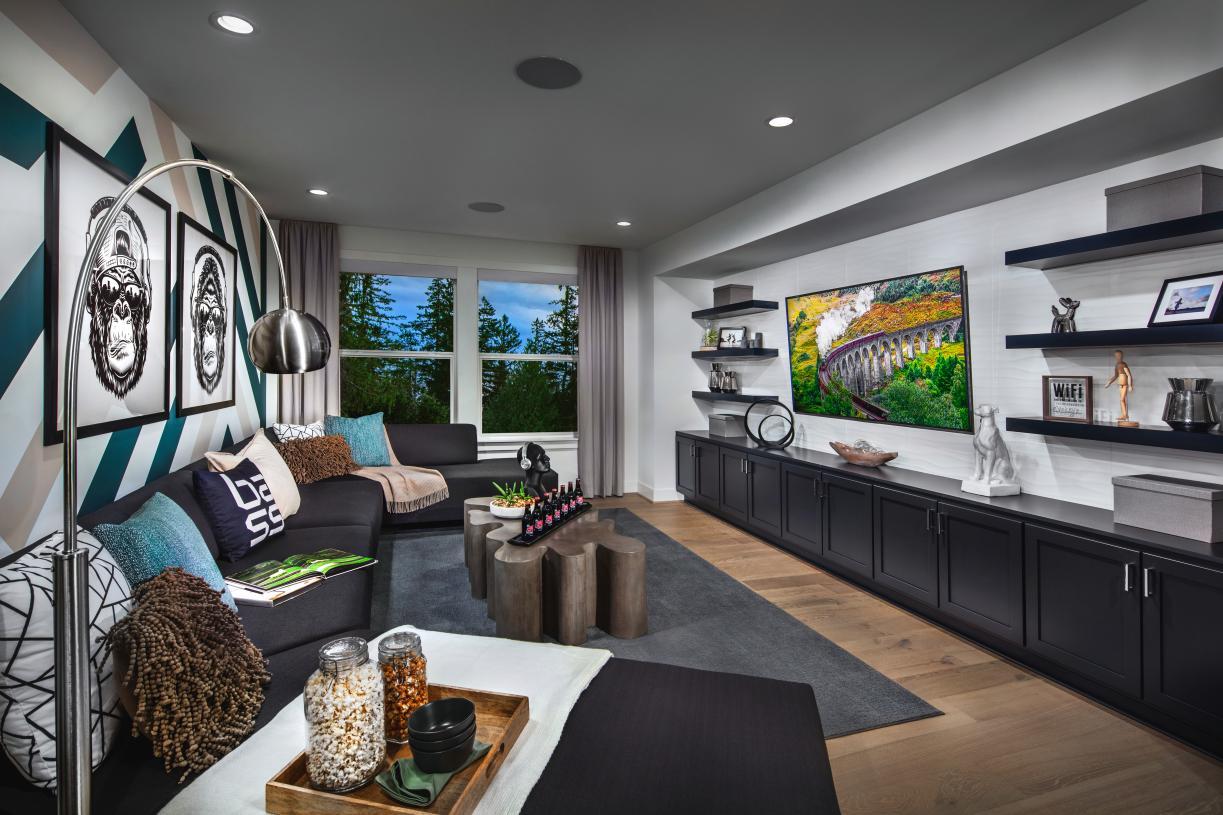 Multi-functional floor plans include lofts or flex spaces