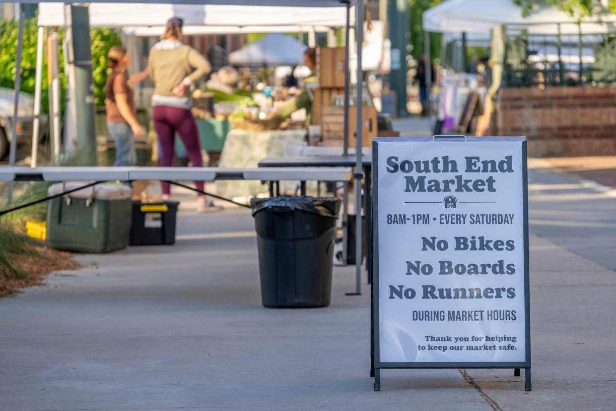 Shop local and visit the South End Market