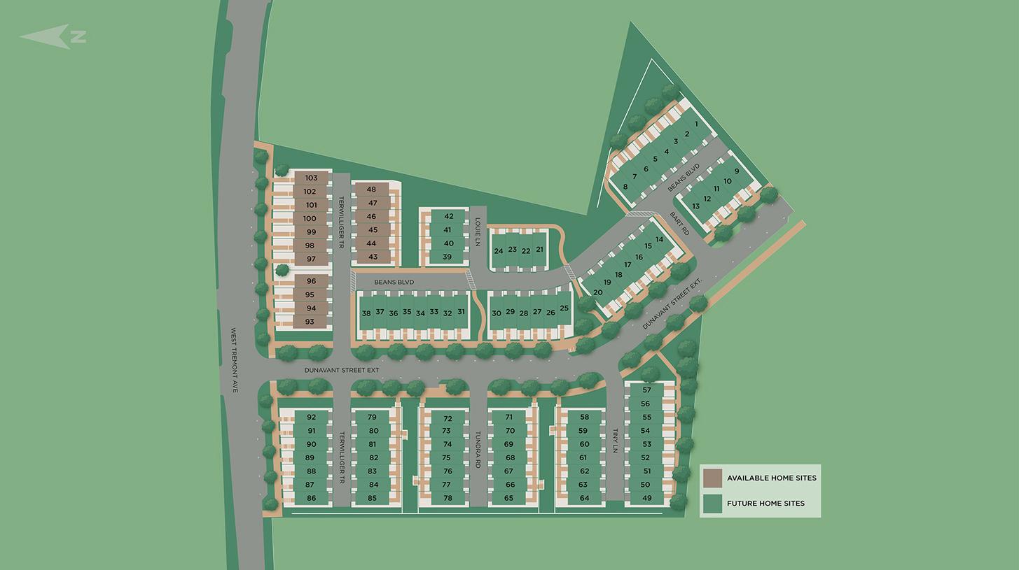 Tremont Station Site Plan