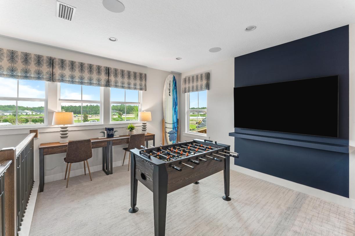 Game room/loft area