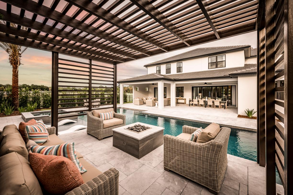 Inviting outdoor living