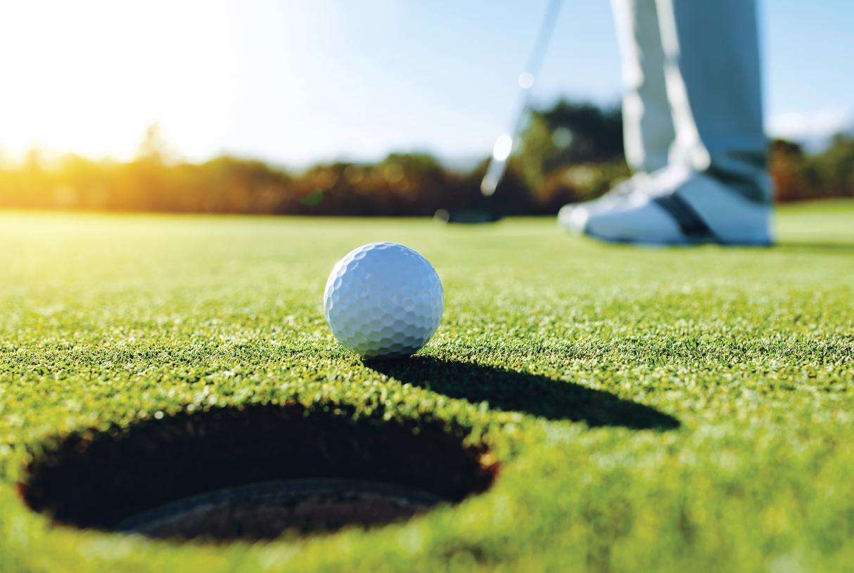 Take in a round of golf at Reflection Bay Golf Club