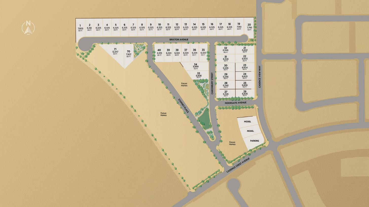 Everleigh at Cadence Site Plan