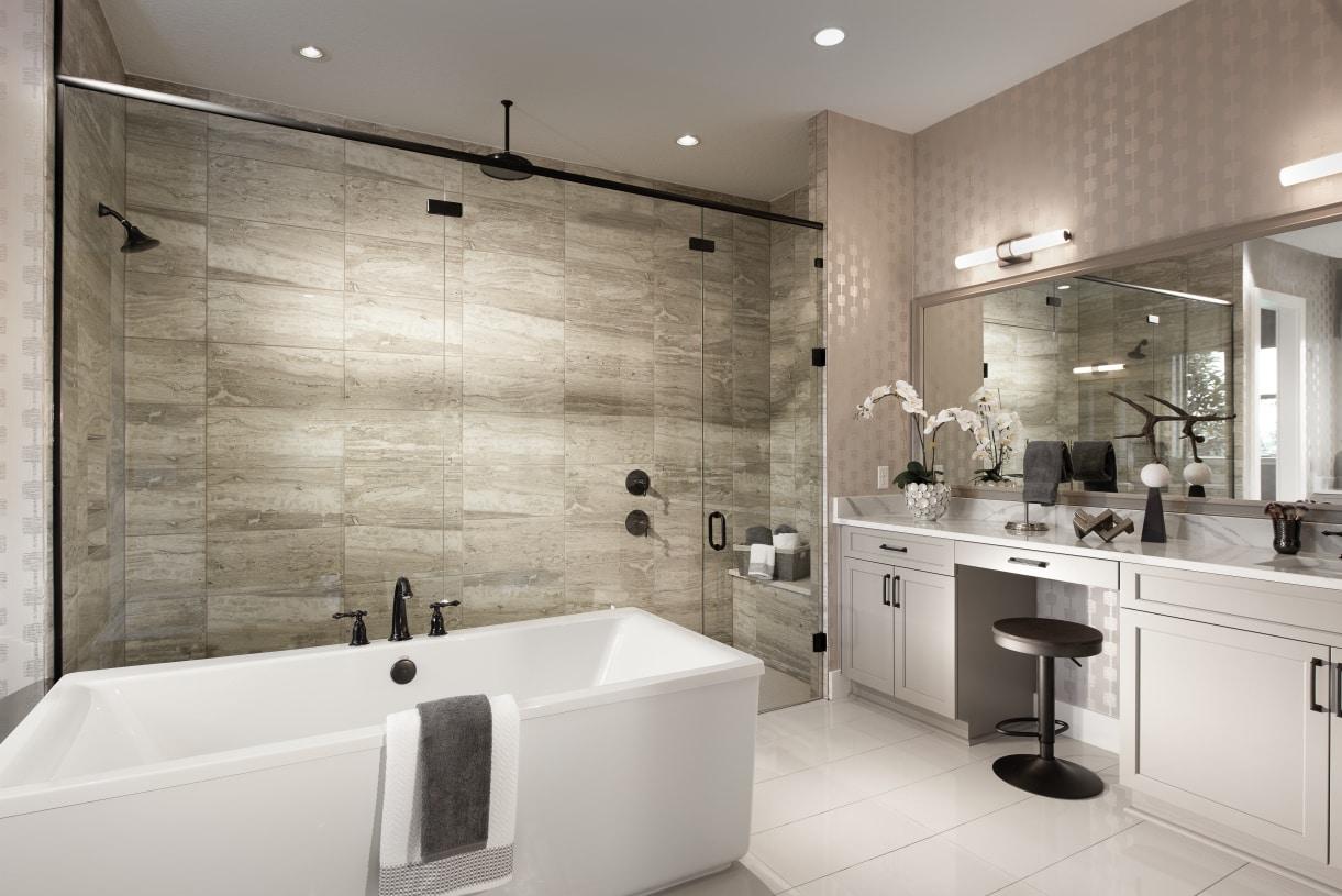 Spa-inspired baths