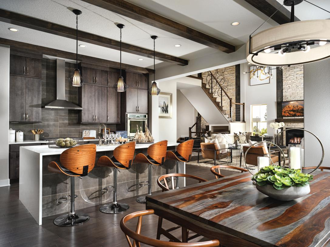 Ralston kitchen and dining area