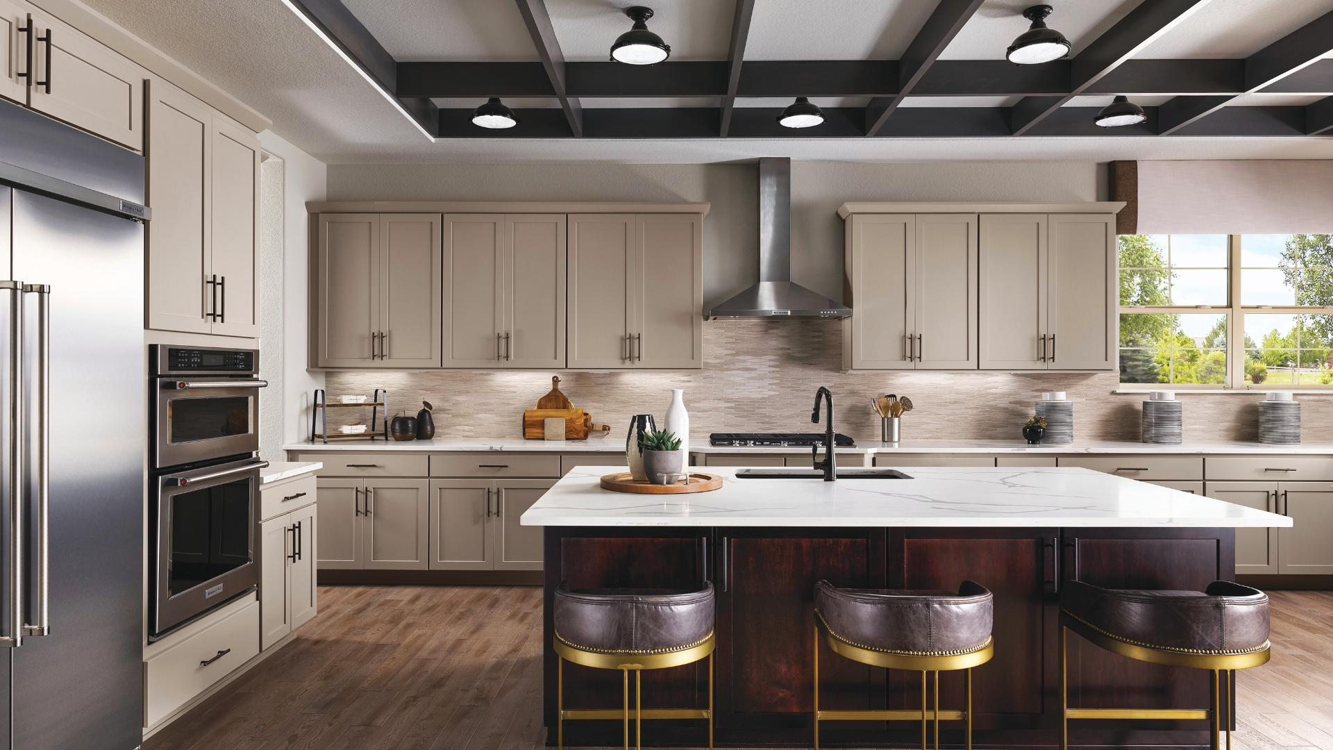 Dillon kitchen with island seating