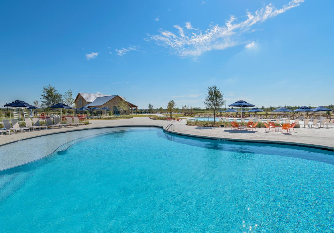 Relax at the resort-style pool