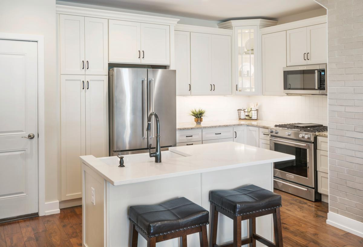 Well-designed kitchens with ample storage space