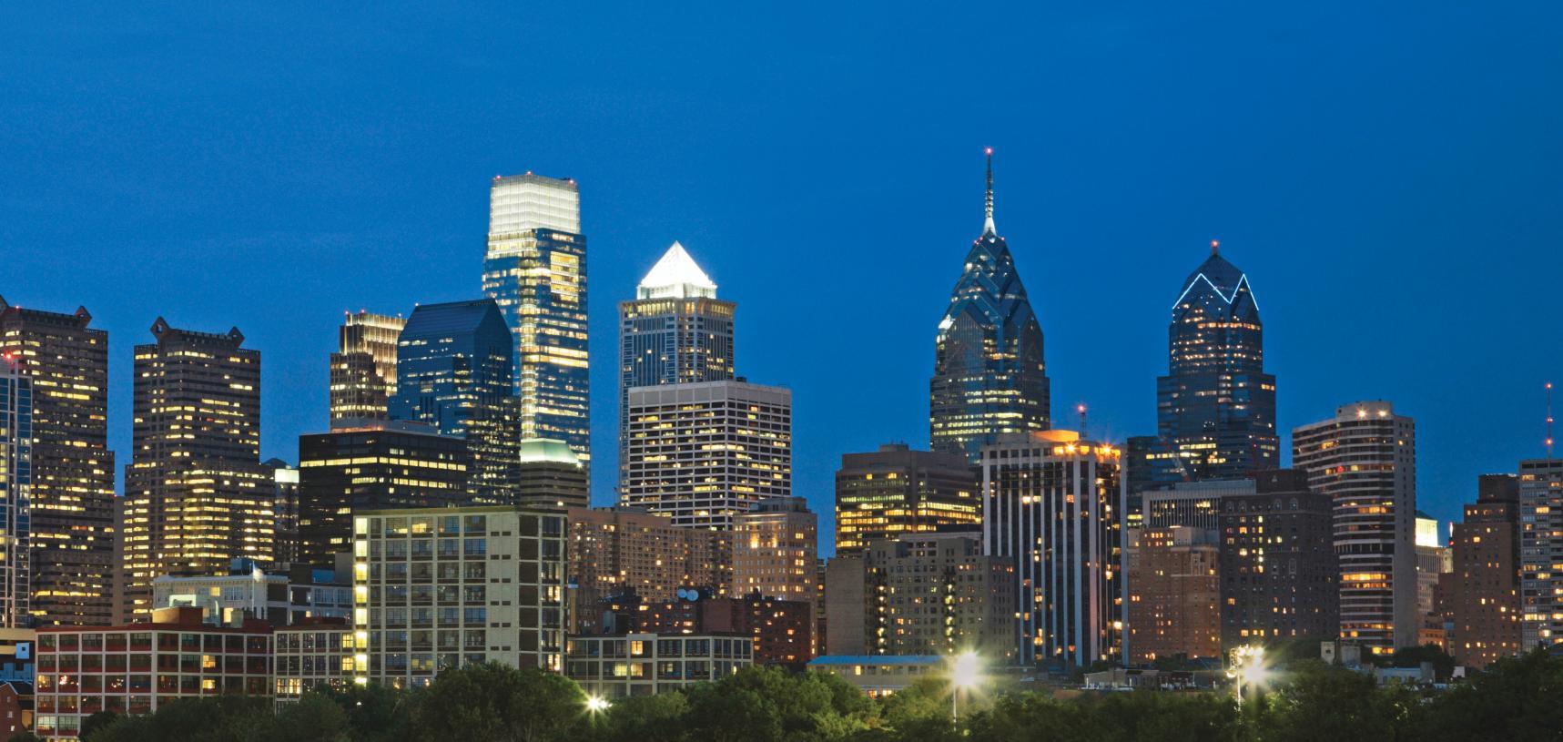 Minutes from Center City Philadelphia