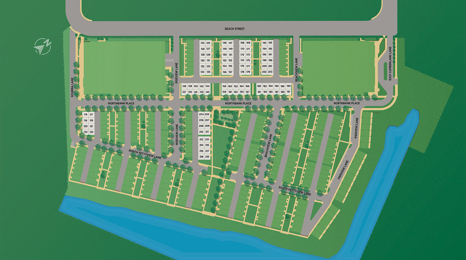 Toll Brothers at Northbank Site Plan