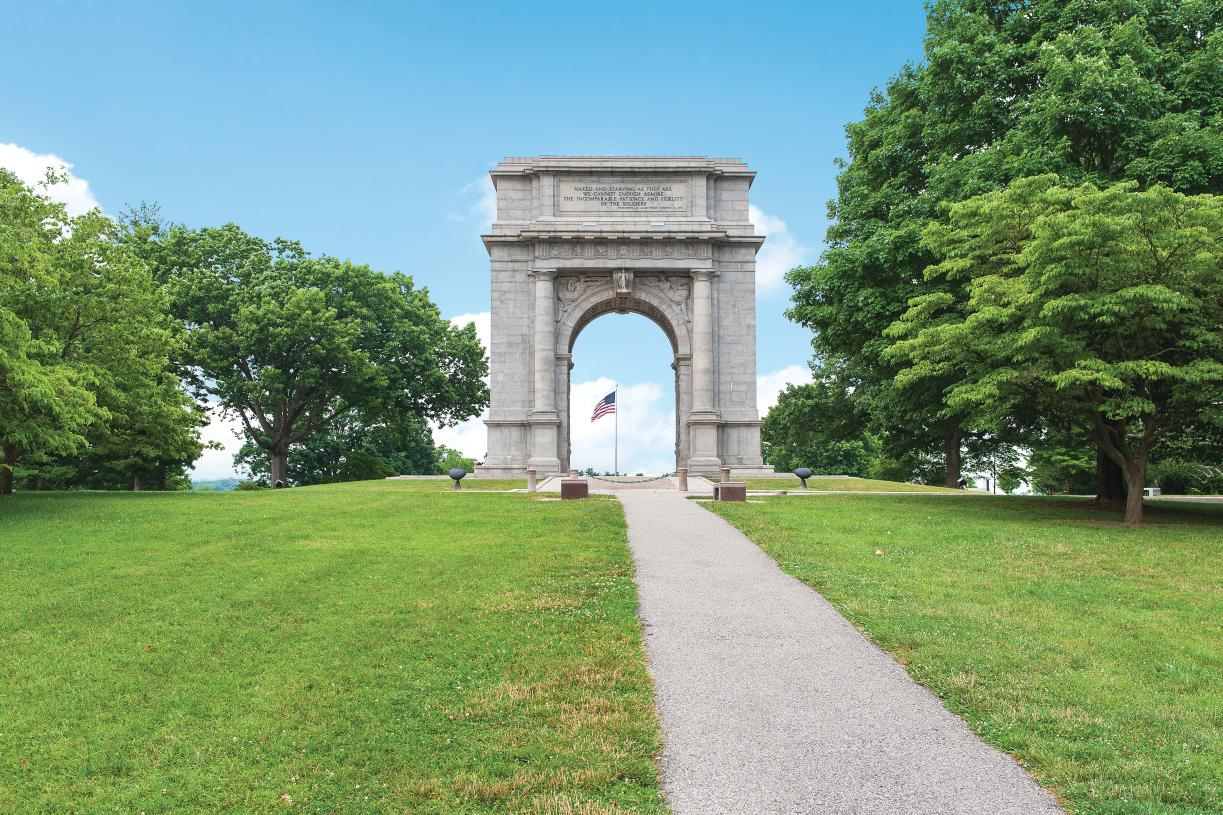 Enjoy nature and history at Valley Forge National Historical Park