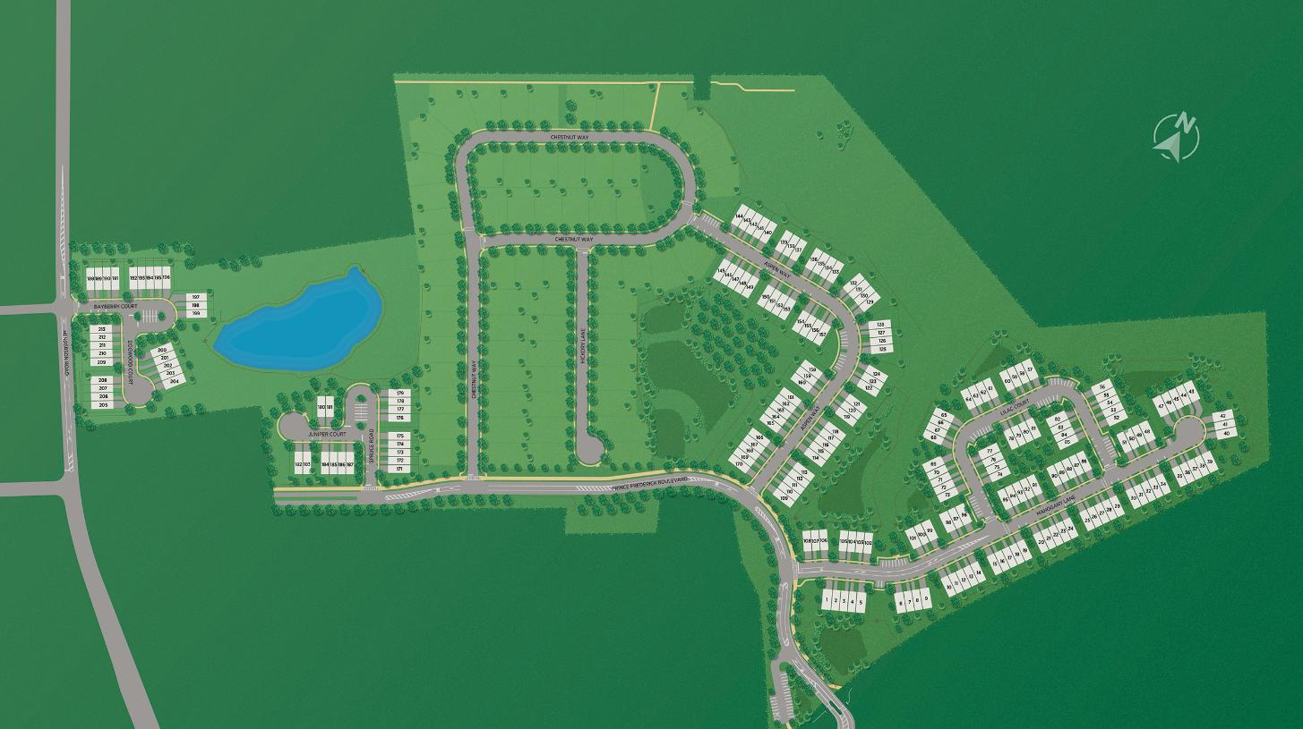 Stonebrook at Upper Merion - Townes Collection - Overall Site Map