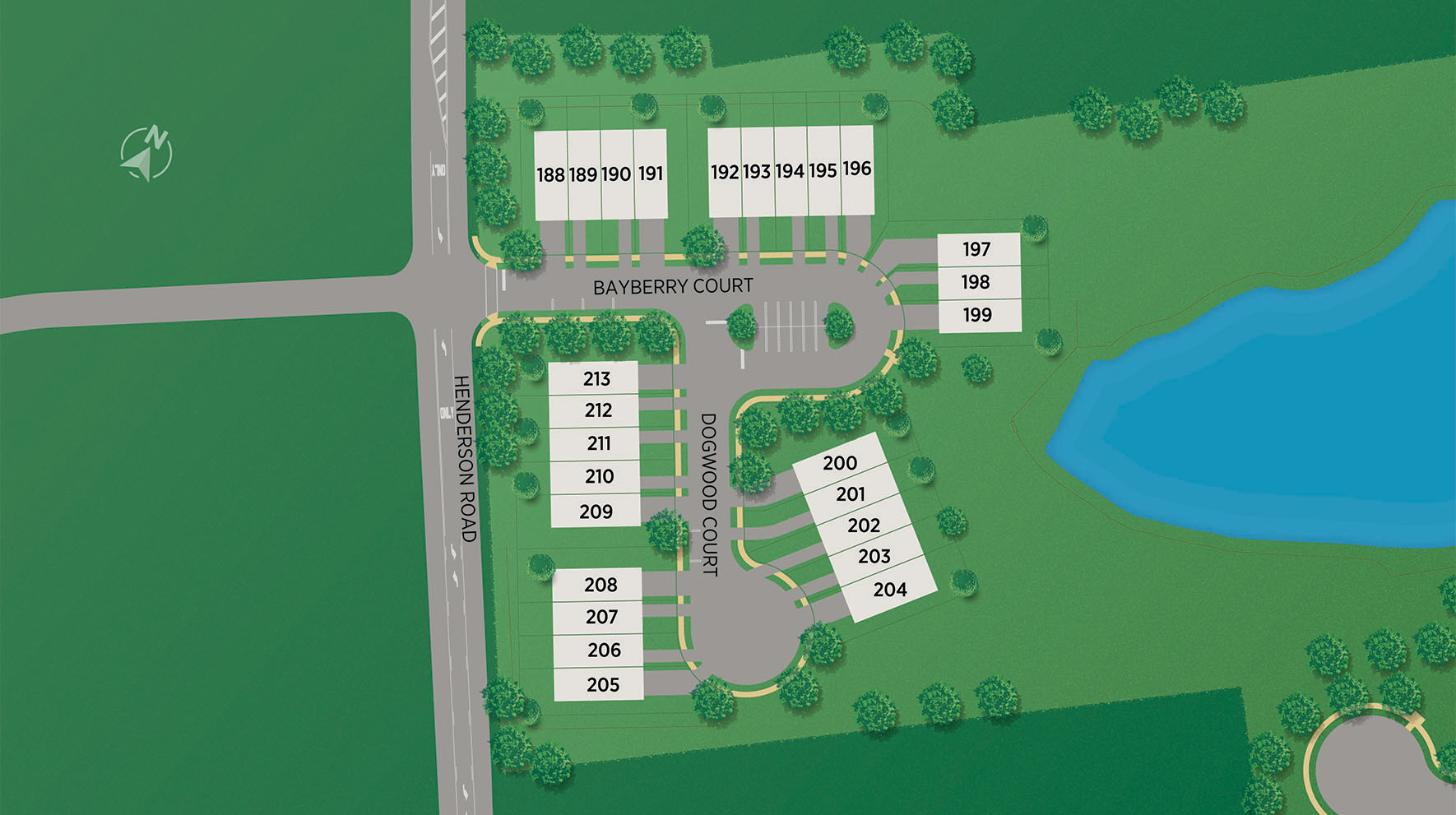 Stonebrook at Upper Merion - Townes Collection - Site Map